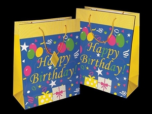 Bulk Quantity Happy Birthday Gift Bags