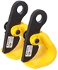 Pair LIFT SAFE Horizontal Plate Lifting Clamps WLL 1500kg. Buyers Note - Di
